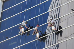 High Rise Window Cleaning