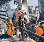 Working at Height window cleaners Perth