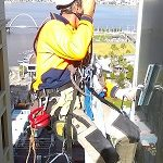 Rope access window cleaning Perth